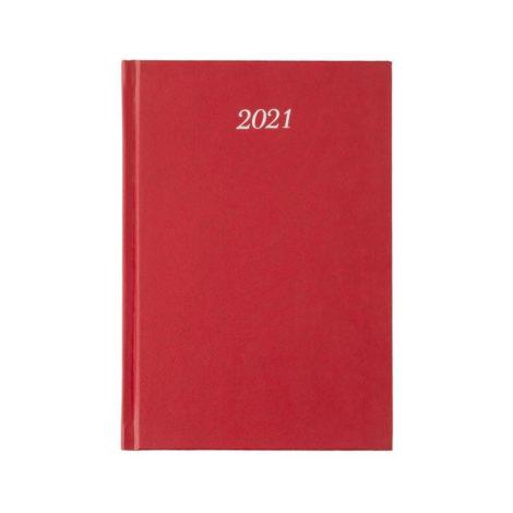 """Ημερήσιο Ημερολόγιο 2021 """"Classic"""" 17x24cm Μπορντώ"""