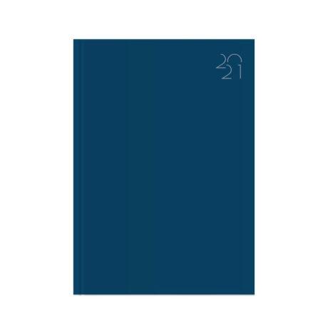 """Ημερήσιο Ημερολόγιο 2021 """"Tempo"""" A4 (21x29cm) Μπλε"""