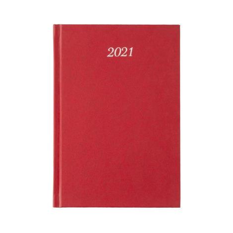 """Εβδομαδιαίο Ημερολόγιο 2021 """"Classic"""" 17x24cm Μπορντώ"""