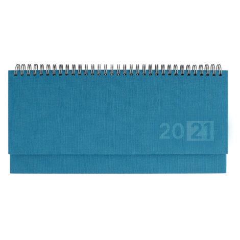 Πλανόγραμμα εβδομαδιαίο πλάγιο 10,5Χ29 Μπλε