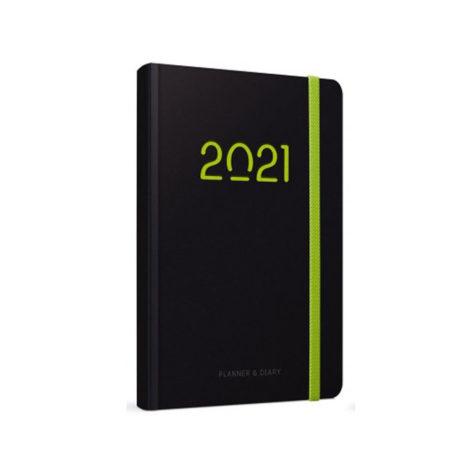 """Ημερήσιο Ημερολόγιο 2021 """"Form-D"""" 13x21cm"""