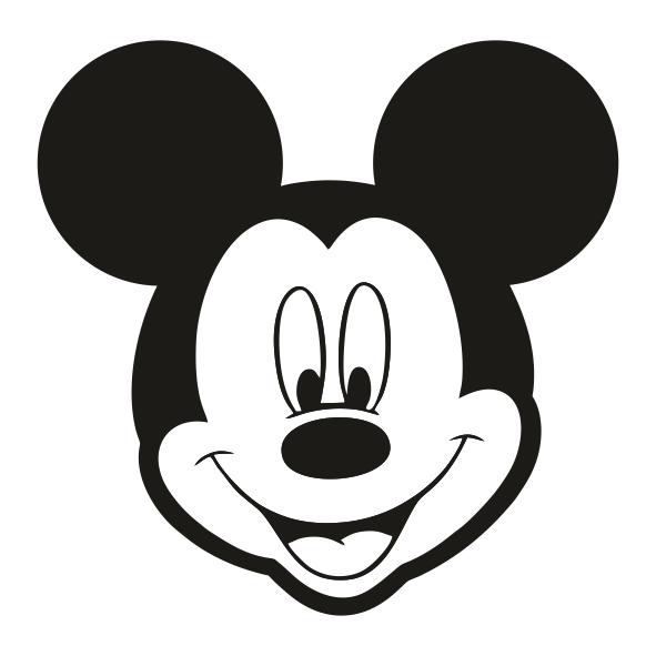 Mickey's face