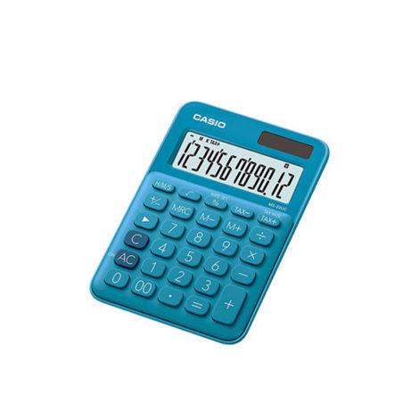 Casio Αριθμομηχανή - Κομπιουτεράκι Μπλε