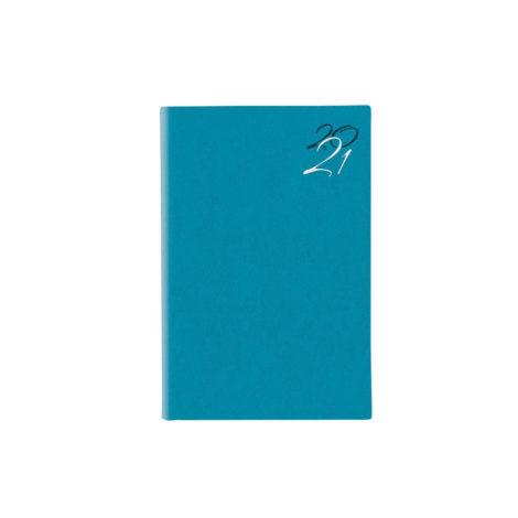 Jeans Ημερήσιο Ημερολόγιο 2021 11x16cm Τιρκουάζ