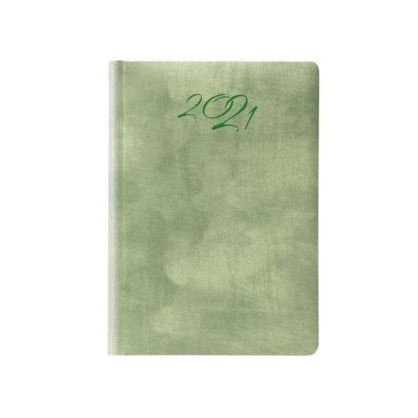 """Ημερήσιο Ημερολόγιο 2021 """"Wall"""" 14x21cm Πράσινο"""